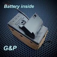 KIT Box Magazine G&P m249 Battery inside  ( 2100rd )