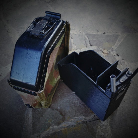 Insert in the original T box M249 200 RD AMMO